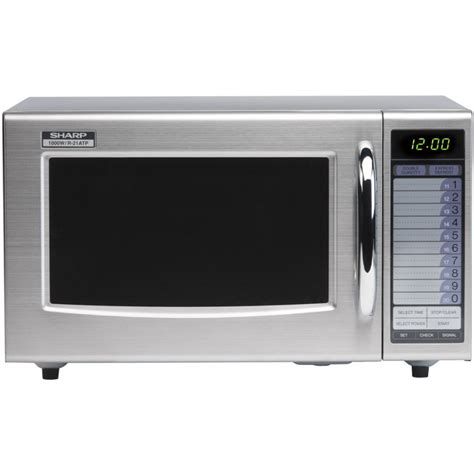 Microwave Oven Sharp R 222y sharp r21at 1000w commercial microwave oven light duty