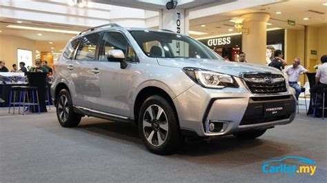 new subaru forester prices new 2016 subaru forester ckd launched in malaysia