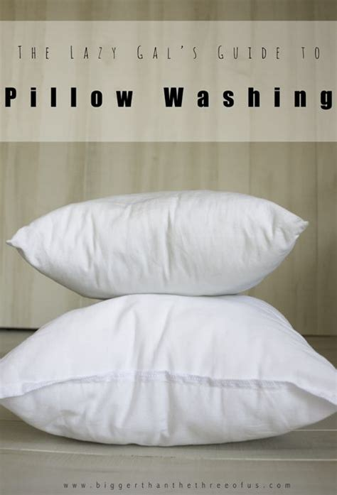 Pillow Washing by The Lazy Gal S Guide To Pillow Washing It Is Need To