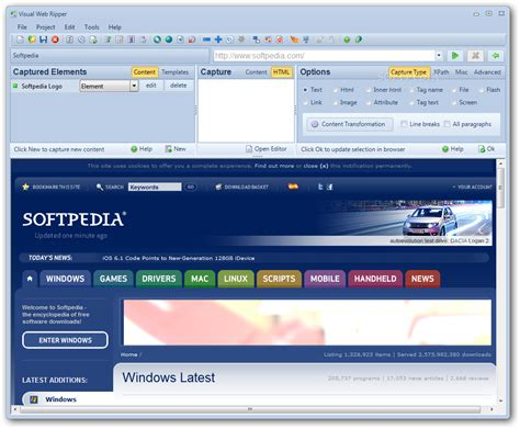 tutorial visual web ripper visual web ripper download