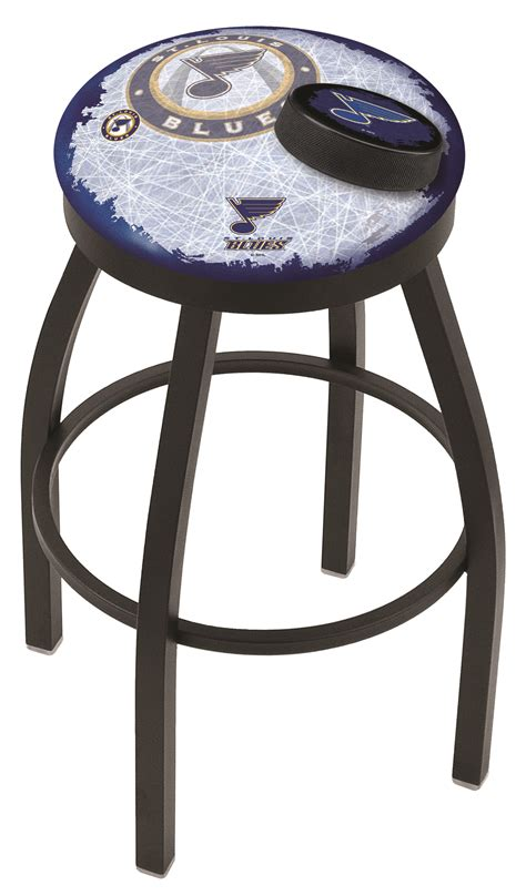 bar stools st louis mo st louis blues bar stool w official nhl logo family leisure