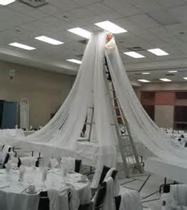 4 panel sheer voile 21ft ceiling draping kit 44 wide