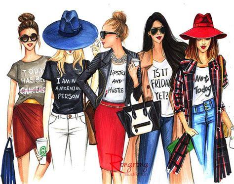 Fashion Friend Couture In The City On Plus Size Fashion by 25 Melhores Ideias Sobre Desenhos De Menina No