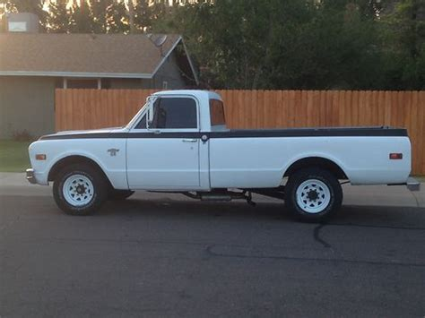 used chevy truck bed for sale sell used 1968 chevy c20 long bed pickup truck in gilbert