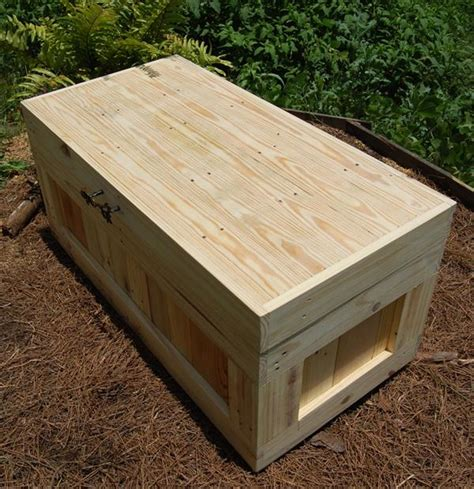 diy pallet wood chest coffee table pallet furniture plans