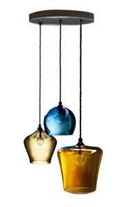 Blown Glass Light Pendants Finds Blown Glass Pendant Light Homegirl