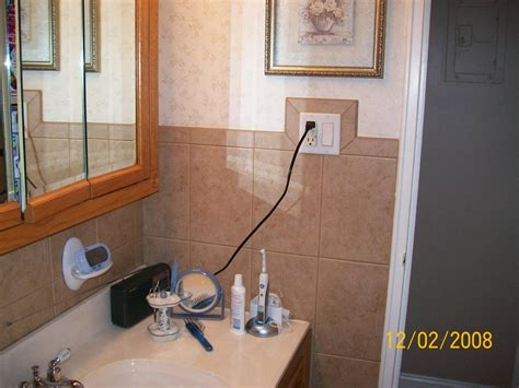 Light Switches For Bathrooms Tile Around Light Switch Bathroom Light Switches Bathroom Tiling And Lights