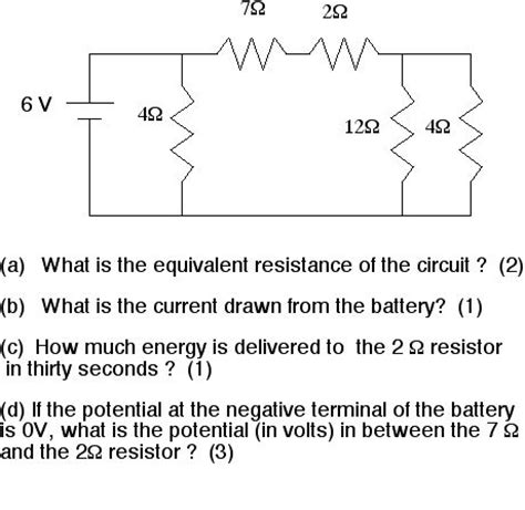 what is the equivalent resistance of a of resistors shown in the figure mastering physics physics department brock