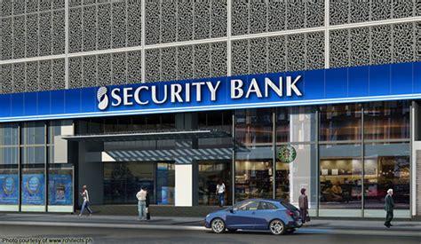 security bank security bank corp archives bilyonaryo bilyonaryo