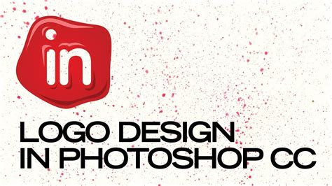 how to design a logo using photoshop cc designing a logo in photoshop cc youtube