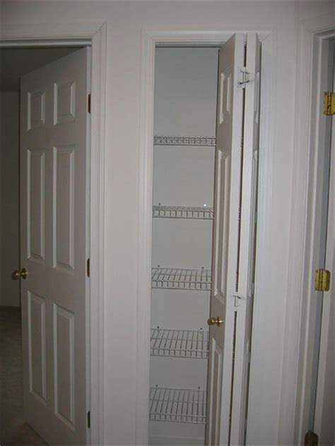 Linen Closet Size by Linen Closet With Bifold Doors Flickr Photo