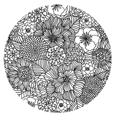 mandala flower coloring pages difficult alisaburke my favorite ways to color and a free coloring