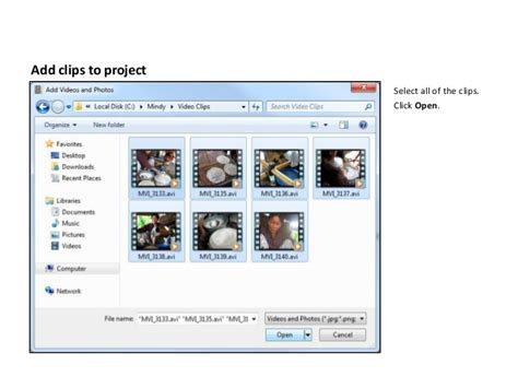 windows movie maker tutorial pictures windows live movie maker tutorial