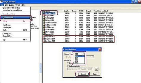 format jef converter pe design 使用design database來轉換刺繡檔格式 格瑞絲工作室 隨意窩 xuite日誌