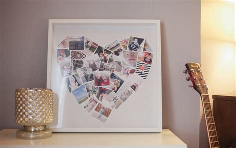 How To Make A Handmade Photo Collage - 32 photo collage diys for a more beautiful home