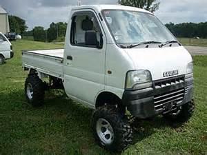 Suzuki Mini Truck 4x4 Suzuki Truck Vehicles Contractor Talk