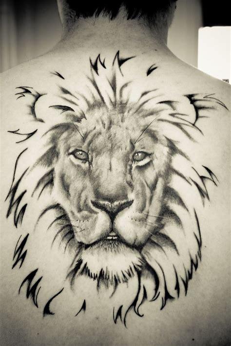 imagenes de leones misticos tatuajes de leones originales y significado tatuaje