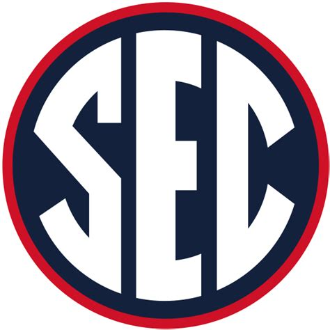ole miss colors file sec logo in ole miss colors svg