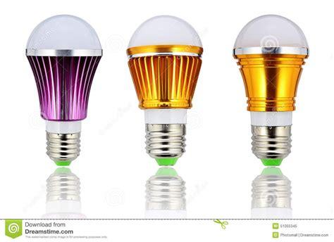 Types Of Led Light Bulbs New Type Led L Bulb Or Energy Saving Led Light Bulb Stock Photo Image 51055345