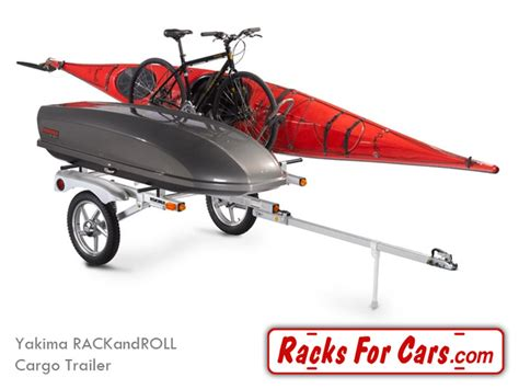 Racks For Cars by Yakima Rackandroll Trailers Carry All Of Your Gear