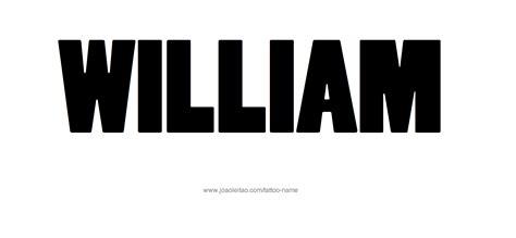 tattoo name william william name tattoo designs