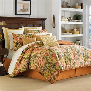 bedroom comforters sets tommy bahama tropical lily comforter duvet sets from