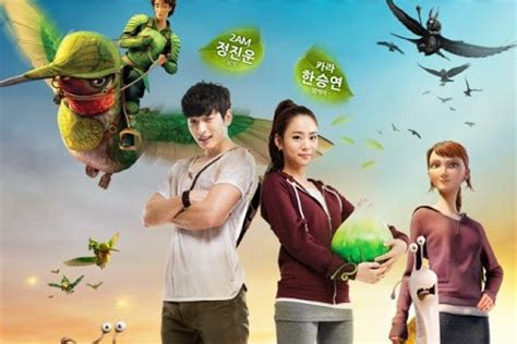 film animasi epic 2013 2am s jinwoon and kara s han seung yeon dub for animated