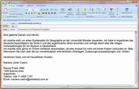 E Mail Text Bei Bewerbung Beispiel 6 Email Text Bewerbung Bewerbungsschreiben