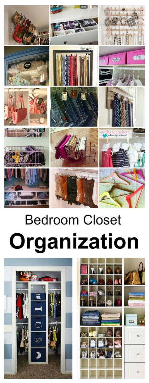 bedroom closet organizers ideas bedroom closet organization ideas the idea room