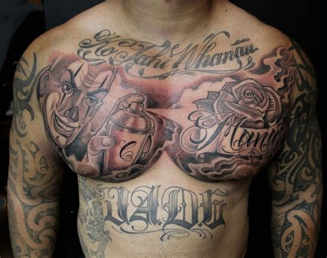 black and grey chest tattoos pin by mister on tattoos tribal