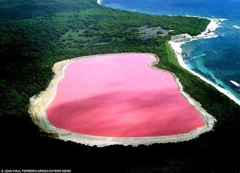 pink lake australia there s a 225 ft gas crater in turkmenistan that s been