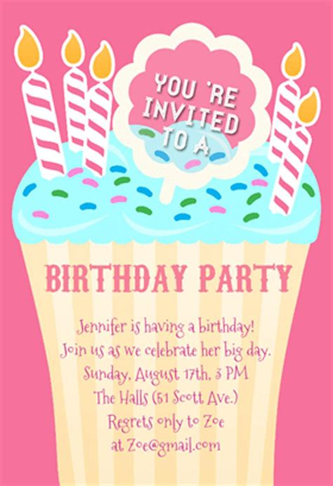 happy birthday invites template 21 birthday invitations inspire design cards