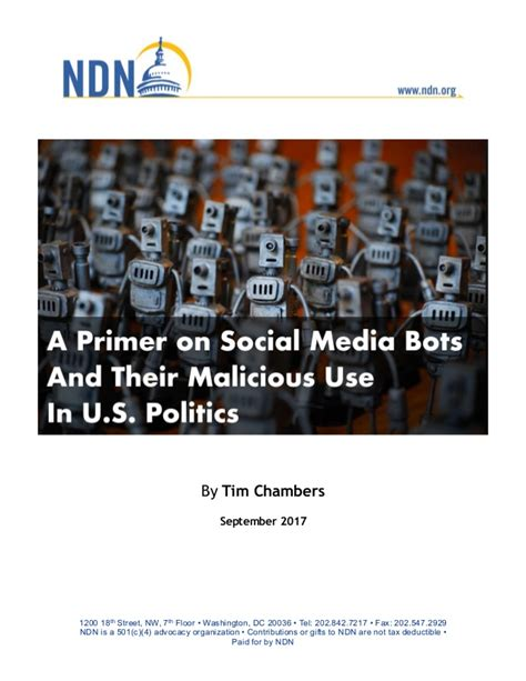 pew research dc floor a primer on social media bots and their malicious use in u
