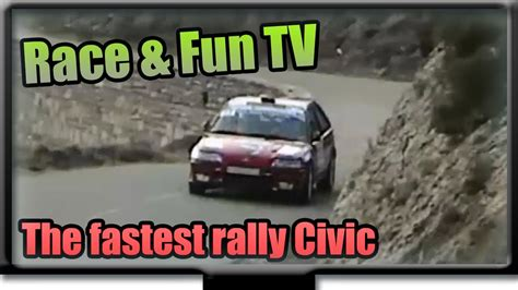 Fastest Honda by The Fastest Rally Honda Civic Of The World
