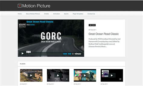 themes from motion pictures best wordpress video themes themes tube
