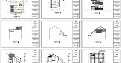 biaya membuat imb tangerang contoh gambar imb rumah tinggal 2 lantai das studio arsitek