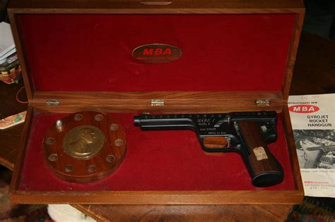Mba Associates San Ramon Ca Tracor Today by Mba Gyrojet I Model B 13mm Pistol For Sale