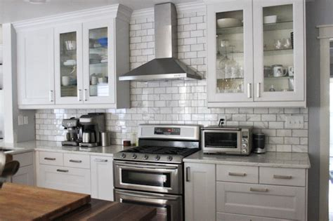 Backsplash Tile Ideas For Small Kitchens by The Kitchen Remodel Final Reveal Koko Likes Koko Likes