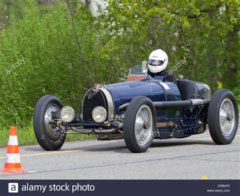 Vintage Pre War Race Car Bugatti T 59 From 1934 At Grand