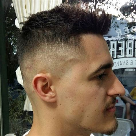 Faux Hawk Hairstyle For by Haircuts For Guys The Cool Faux Hawk For