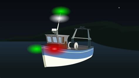 red and white boat lights what type of boat requires navigation lights ace boater