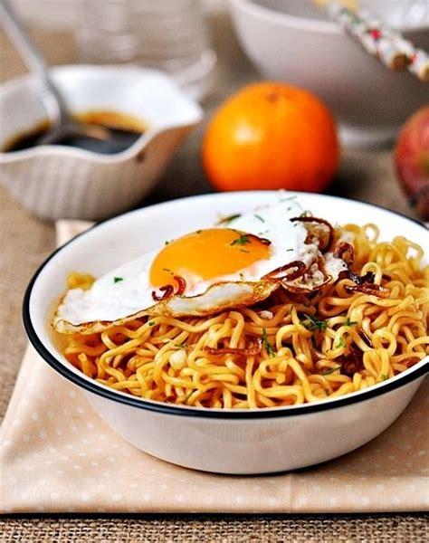 Mie Ramen quot indomie quot noodles pasta ramen and fried eggs