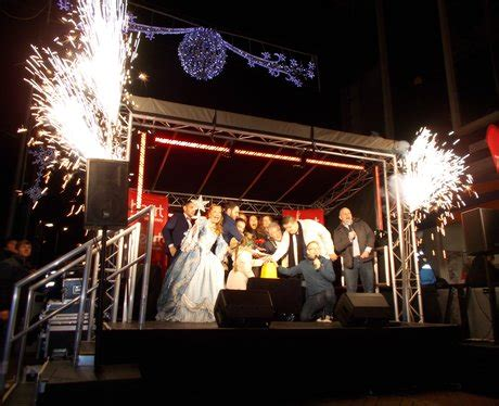 martine mccutcheon rhyl the rhyl christmas light switch on party 2015 pictures