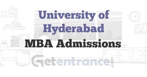 Mba Eligibility Criteria by Of Hyderabad Mba Admissions 2016 Getentrance