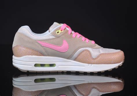 Air Max 1 nike air max 1 prm wmns pink sneakers addict