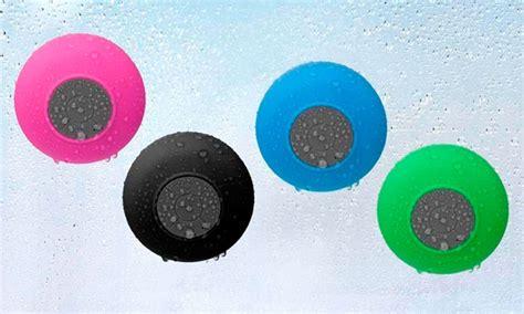 Merkury Innovations Bluetooth Shower Speaker by Merkury Innovations Bluetooth Shower Speaker With Mic
