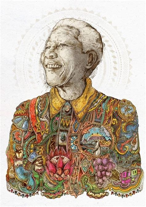 a tribute to nelson mandela nelson mandela tribute illustrations