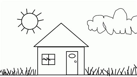 coloring house free printable house coloring pages for kids