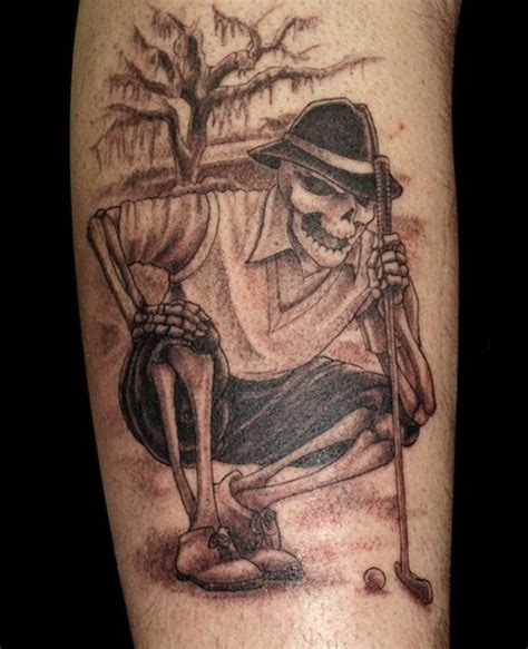 tattoo golf superb exles of skeleton designs sheplanet