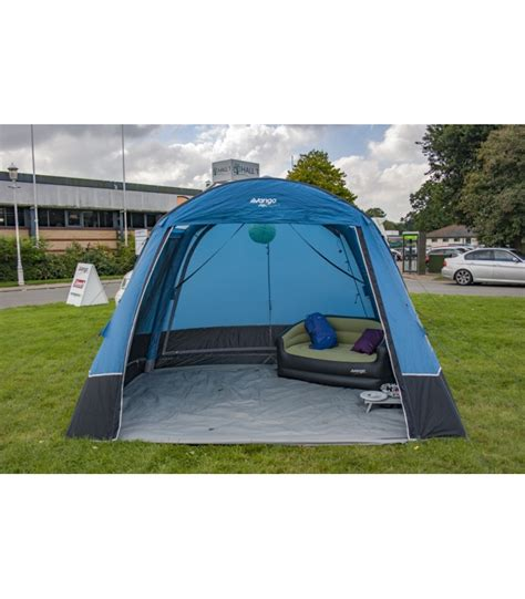 drive away awning with sewn in groundsheet vango airbeam idris 2 tall air away driveaway awning cer essentials